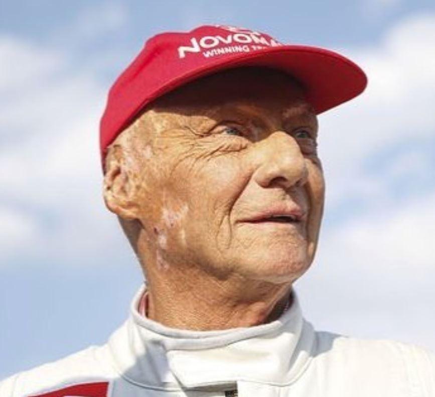 Legendární Niki Lauda...