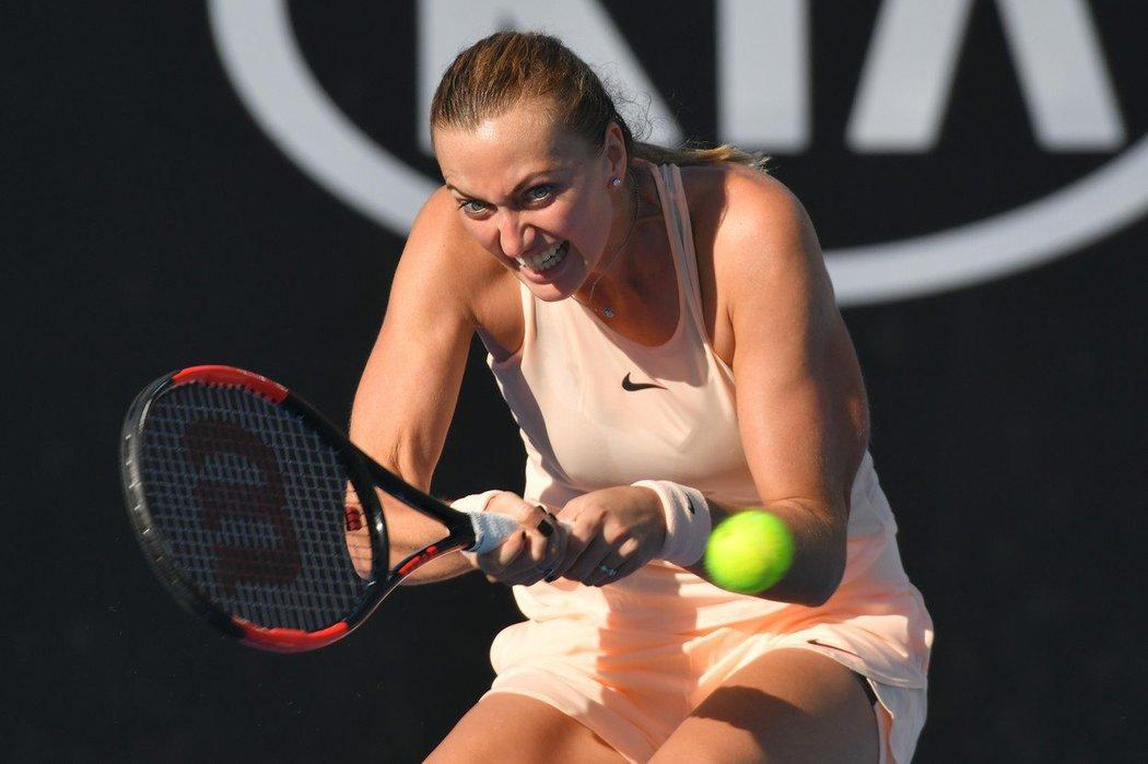Petra Kvitová na Australian Open 2018