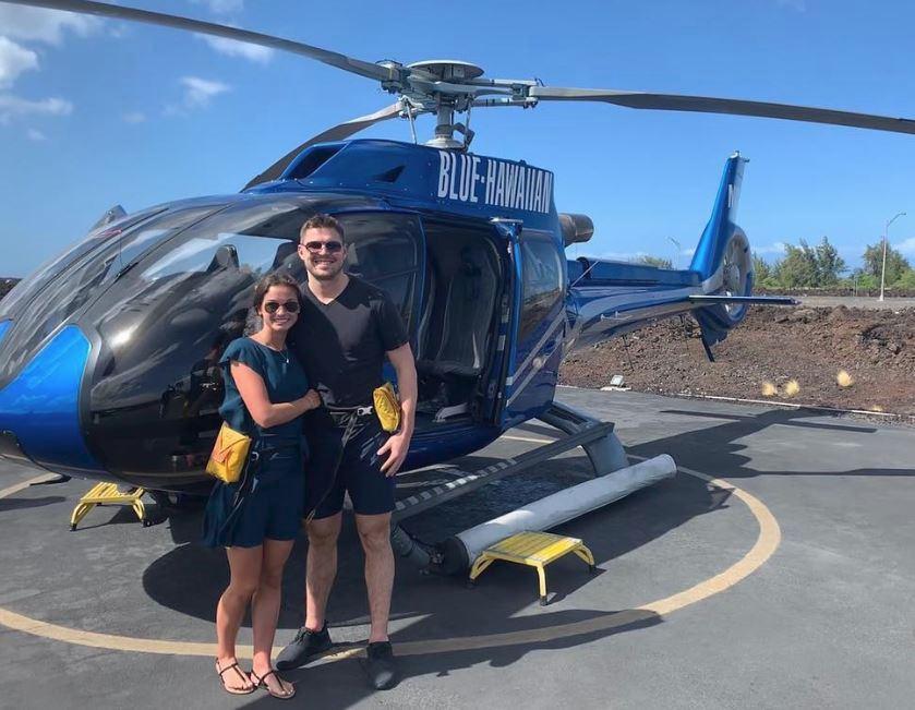 Tomáš Hertl s přítelkyní Anetou letos zvolili aktivní dovolenou