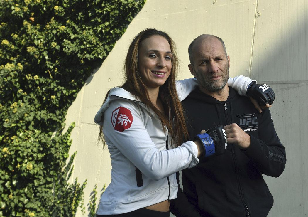 Česká MMA bojovnice Lucie Pudilová bojuje ve slavné UFC.