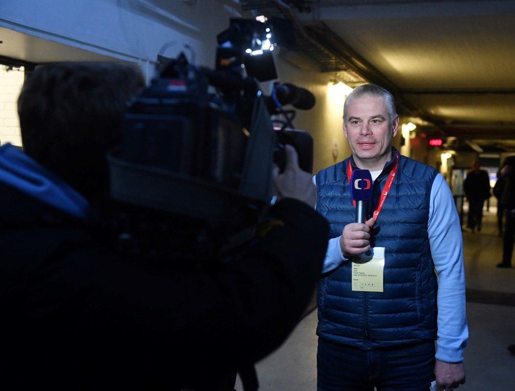 Milan Antoš (hokejový expert ČT, bývalý útočník)