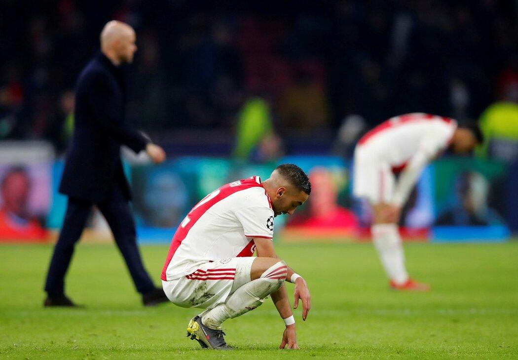 """Trenér Ajaxu Erik ten Hag litoval smolné prohry s Realem: """"Myslím, že většinu zápasu jsme dominovali."""""""