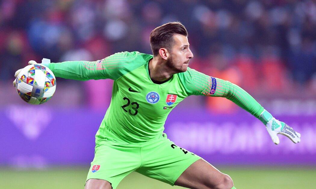 Marin Dúbravka, brankářská jednička slovenské reprezentace a Newcastlu United