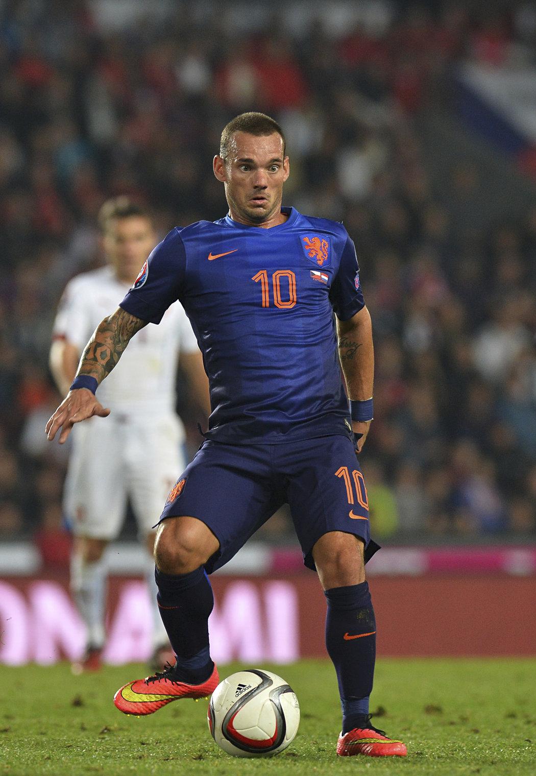Někdejší opora nizozemské reprezentace Wesley Sneijder