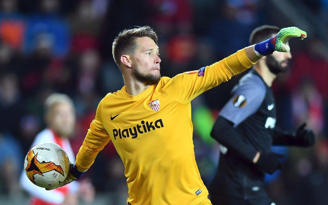 Tomáš Vaclík, opora fotbalistů FC Sevilla