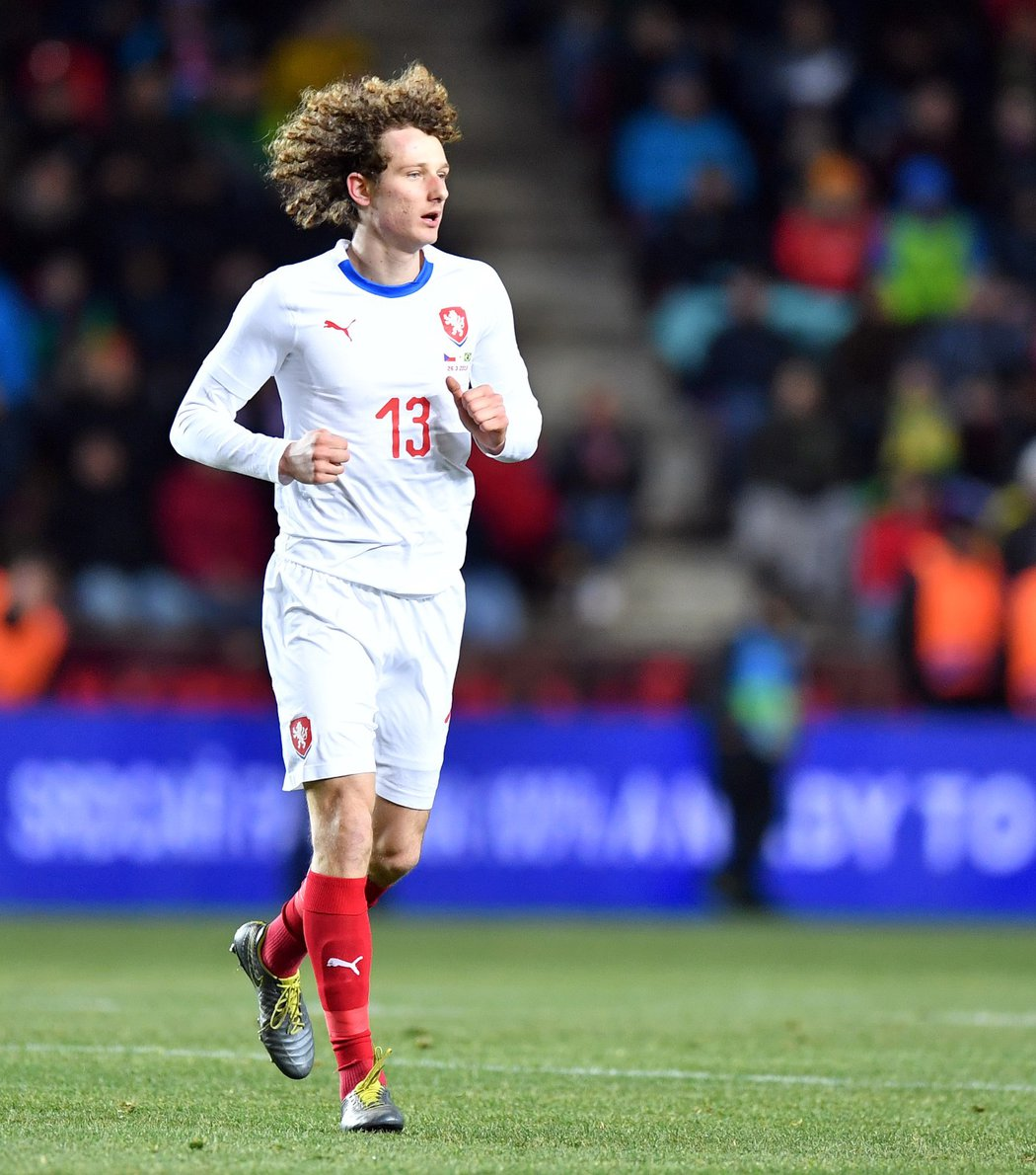 Alex Král si odbyl debut v reprezentaci proti Brazílii