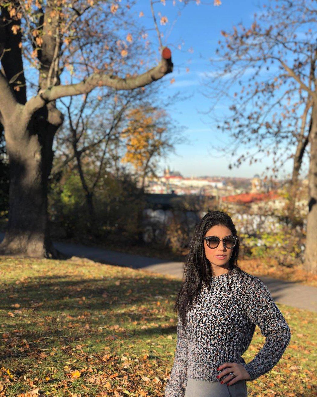 Stramaccioniho manželka Dalila si Prahu zamilovala