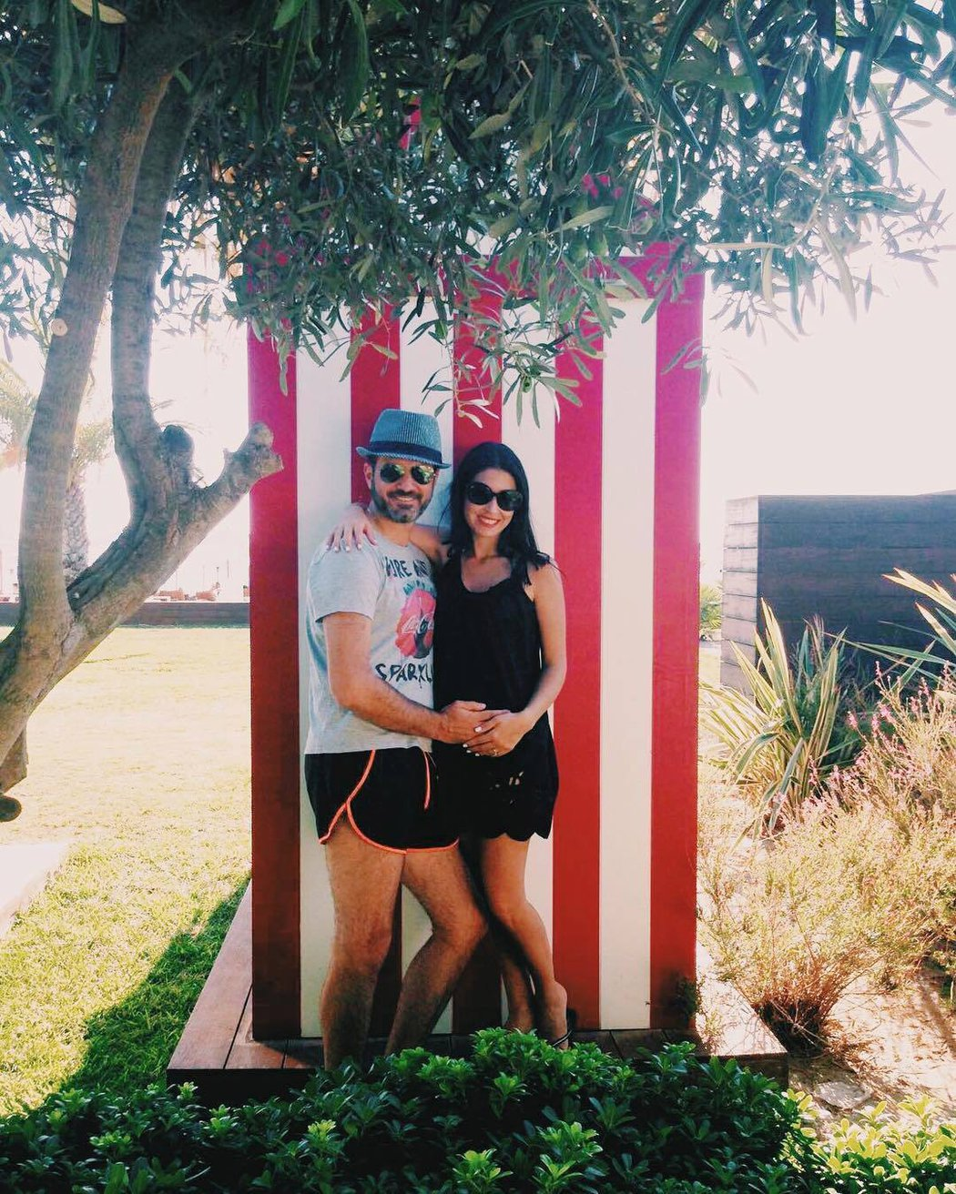 Andrea a Dalila při pohodě na dovolené