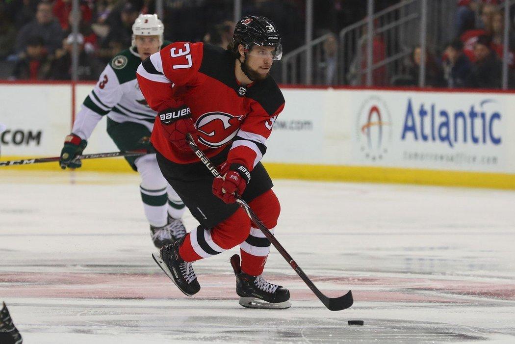 Útočník New Jersey Devils Pavel Zacha