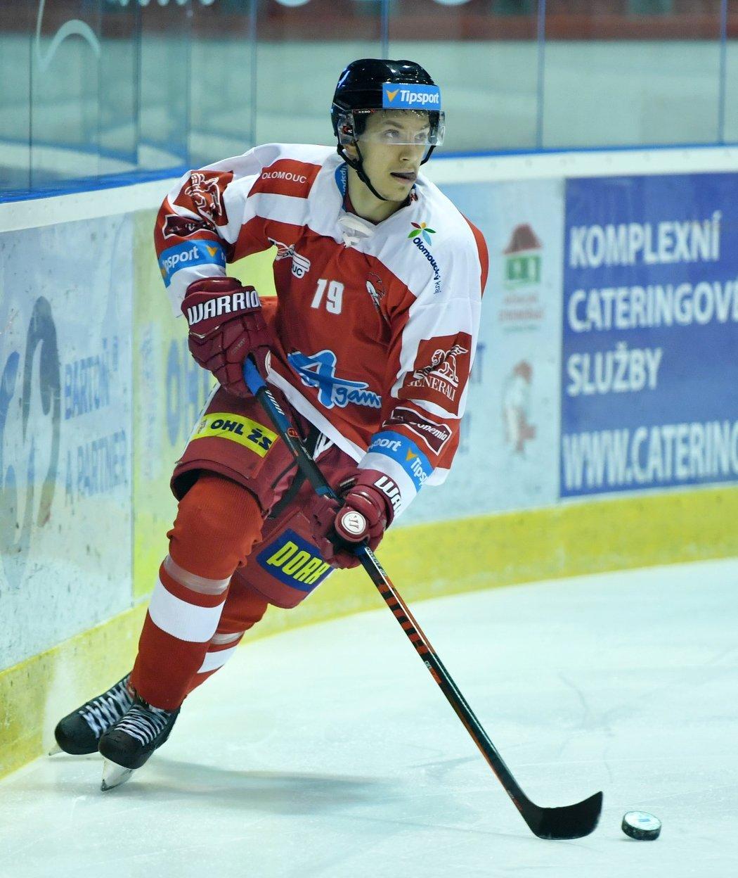 Olomoucký talent Jakub Galvas míří do Finska