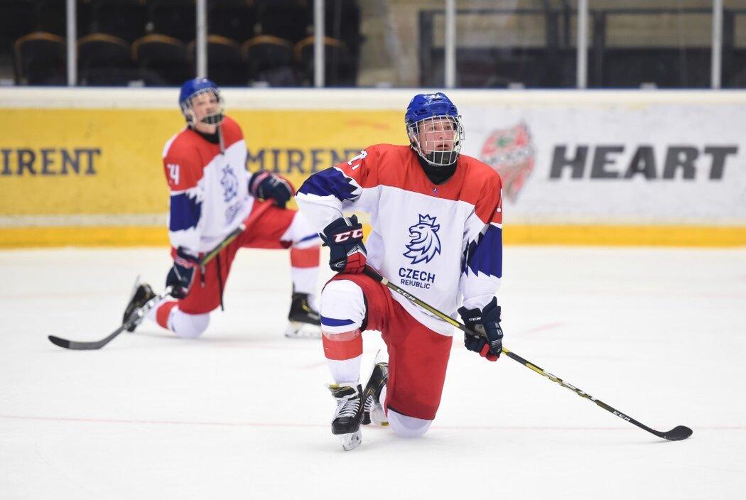 f62d61bbb0147 Čeští hokejisté do 18 let ve čtvrtfinále mistrovství světa narazili na Švédy
