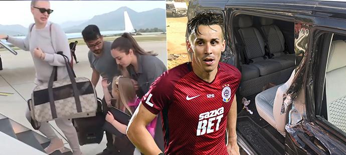 Manželka Josefa Šurala přiletěla z Turecka rychle domů, po ní dorazily i ostatky zesnulého fotbalisty...