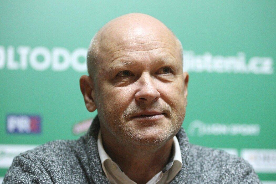 Trenér Ivan Hašek