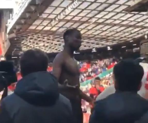 Paul Pogba po posledním zápase s Cardiffem slyšel od fanoušků nadávky