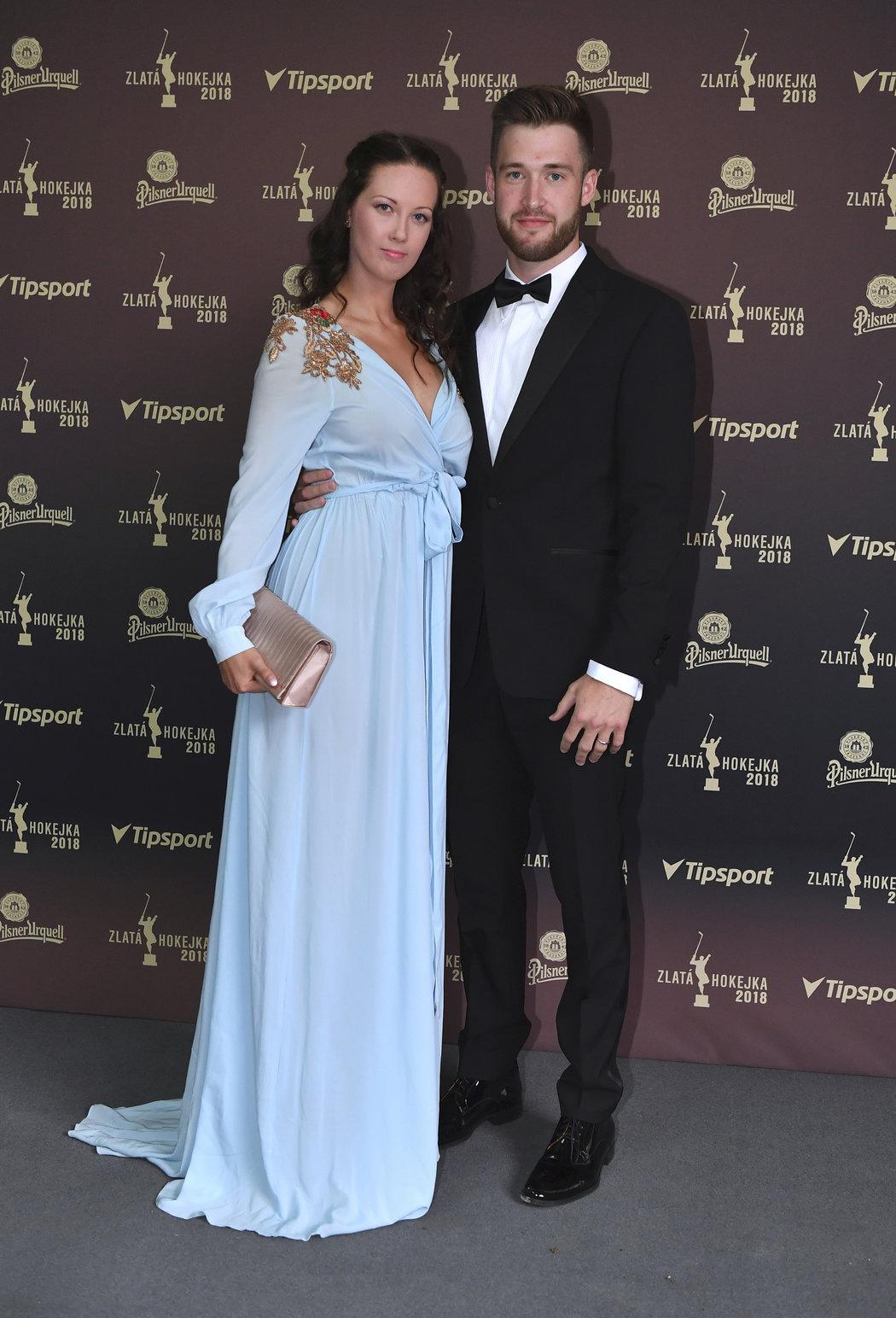 Karolína Francouzová s manželem Pavlem