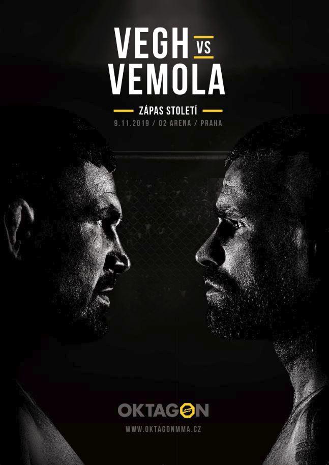 Karlos Vémola a Attila Végh se na podzim střetnou v česko-slovenské bitvě století, kterou pořádá organizace OKTAGON MMA