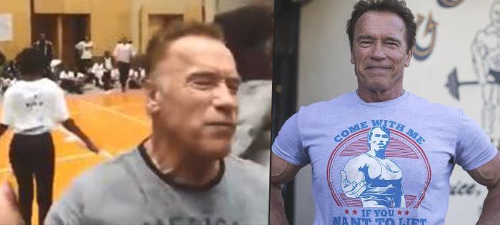 Arnold Schwarzenegger byl napaden v Africe