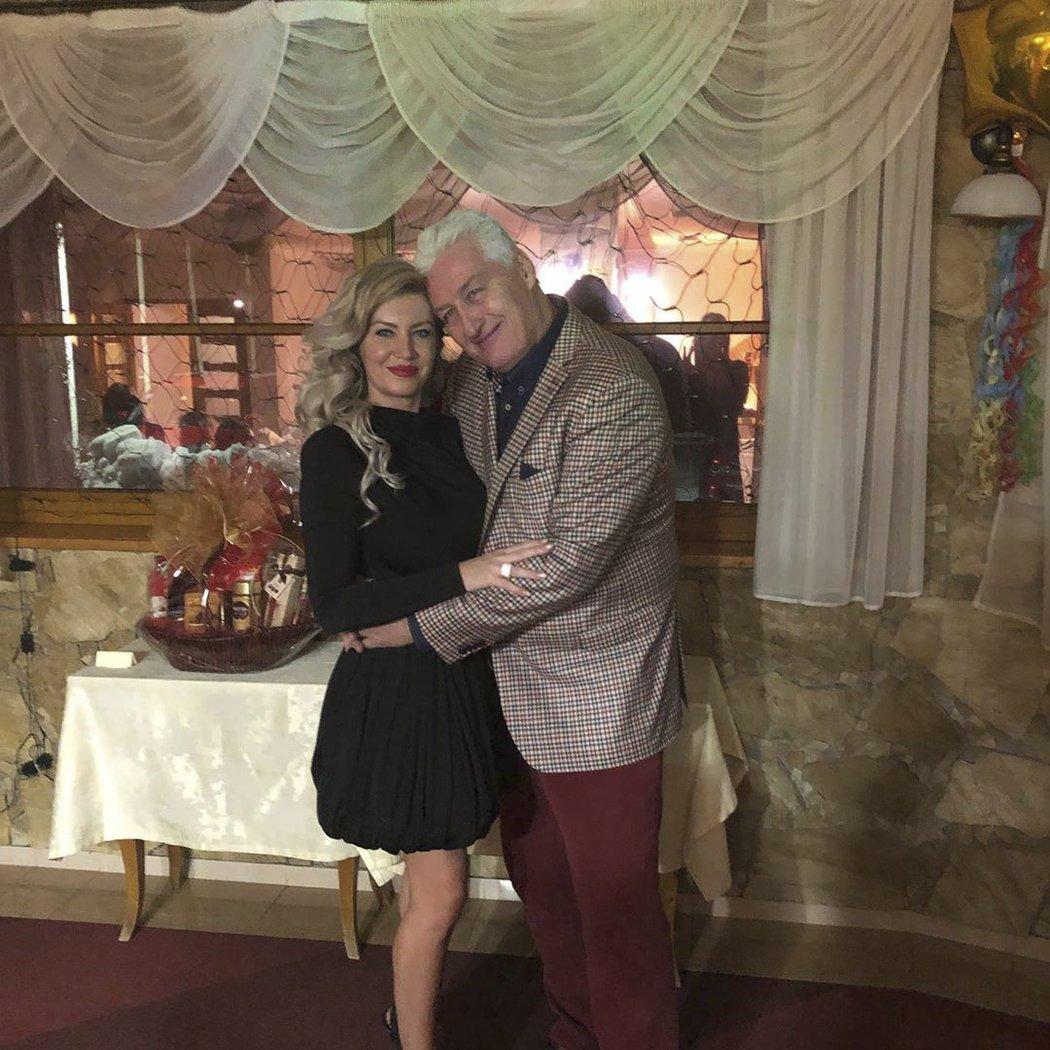 Zamilovaní... Miloš Říha a Soňa Obšutová
