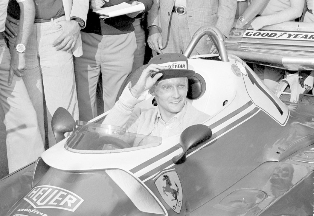Majitel tří titulů mistra světa Niki Laudu