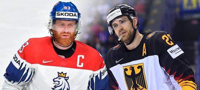 7a8a5ac623c5c Čtvrtfinále MS v hokeji 2019: Česko - Německo 3:2, program semifinále |  iSport.cz