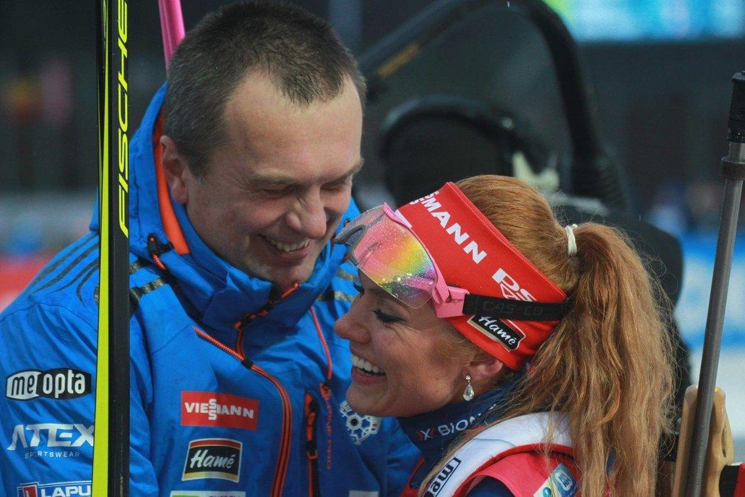Šéf českého biatlonového svazu Jiří Hamza chápe, že se Gabriela Koukalová rozhodla definitivně ukončit kariéru