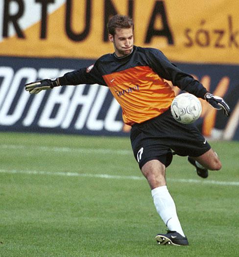 Petr Čech strávil ve Spartě sezonu 2001/2002