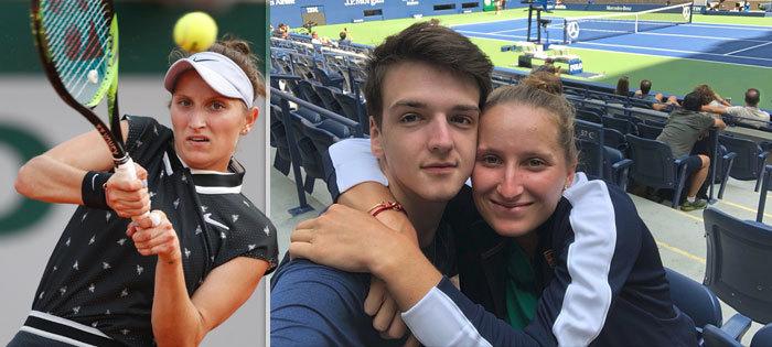 Markétu Vondroušovou dorazil na French Open podpořit její přítel