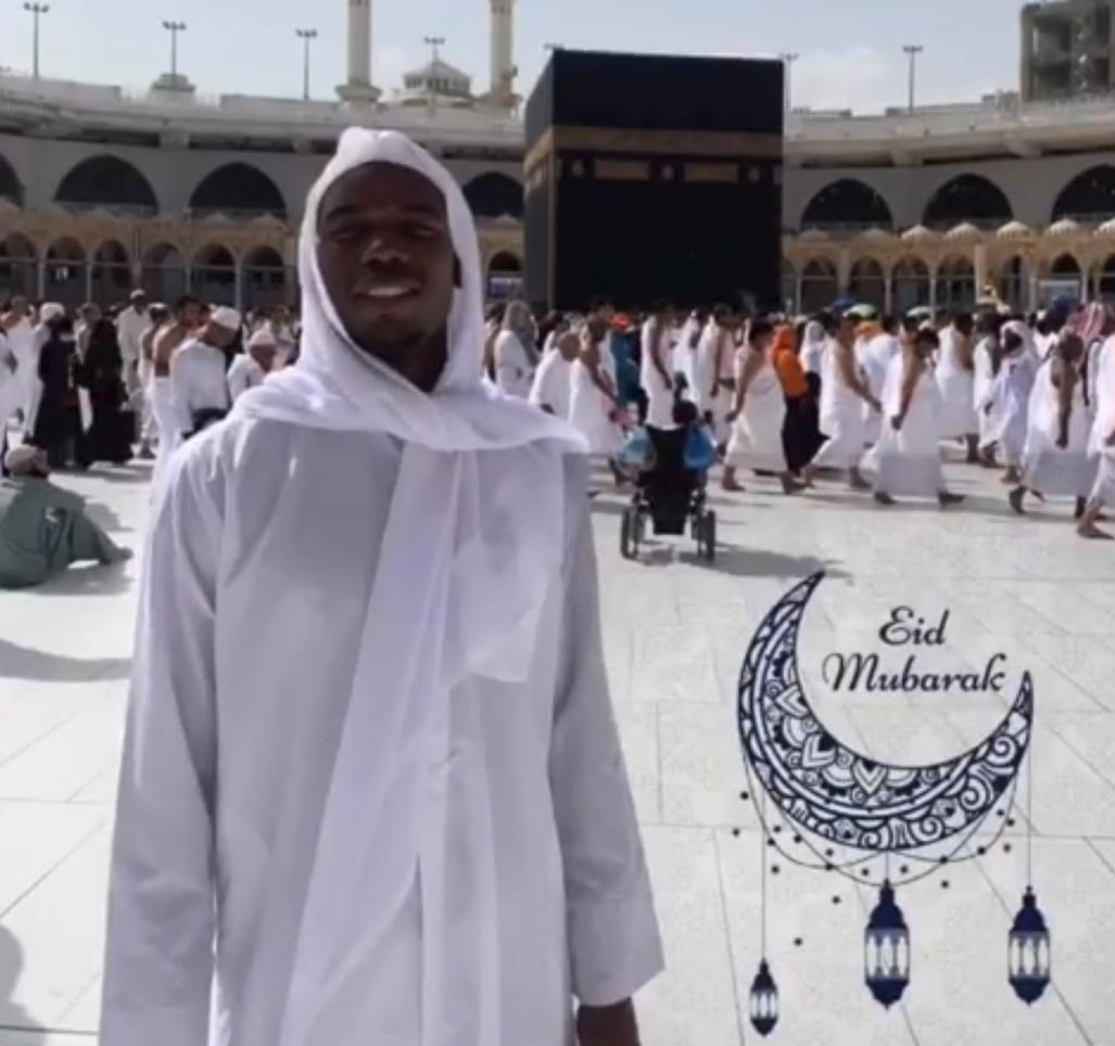 Paul Pogba se stal muslimem, do Mekky se vydal minulý měsíc