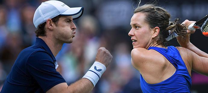 S kým si zahraje smíšenou čtyřhru Andy Murray? Mezi kandidátkami je i Barbora Strýcová.