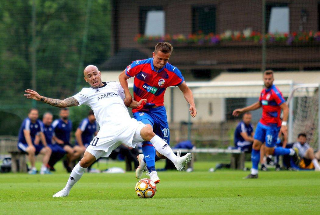 Plzeň na soustředění v Rakousku hraje proti Karabachu