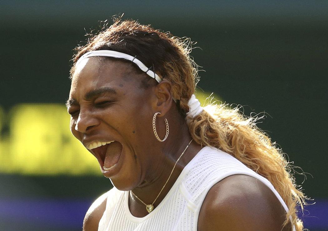 Americká hvězda Serena Williamsová porazila ve dvou setech Italku Gattovou-Monticoneovou
