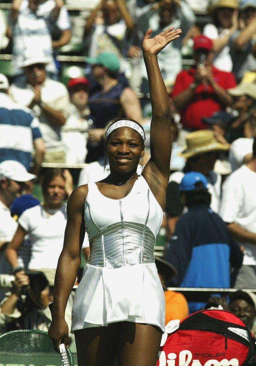Serena alá řecké bohyně.