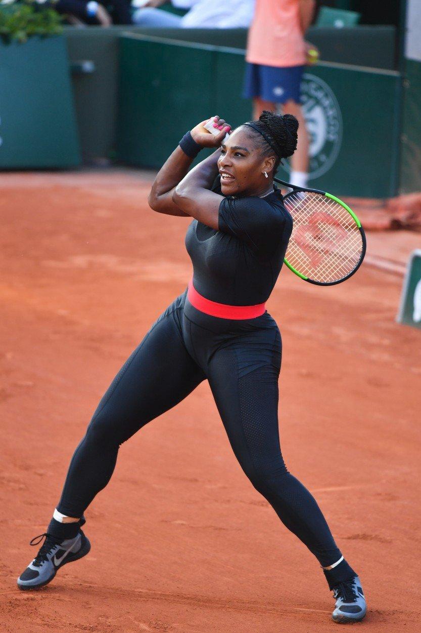 Serena Williamsová v akci