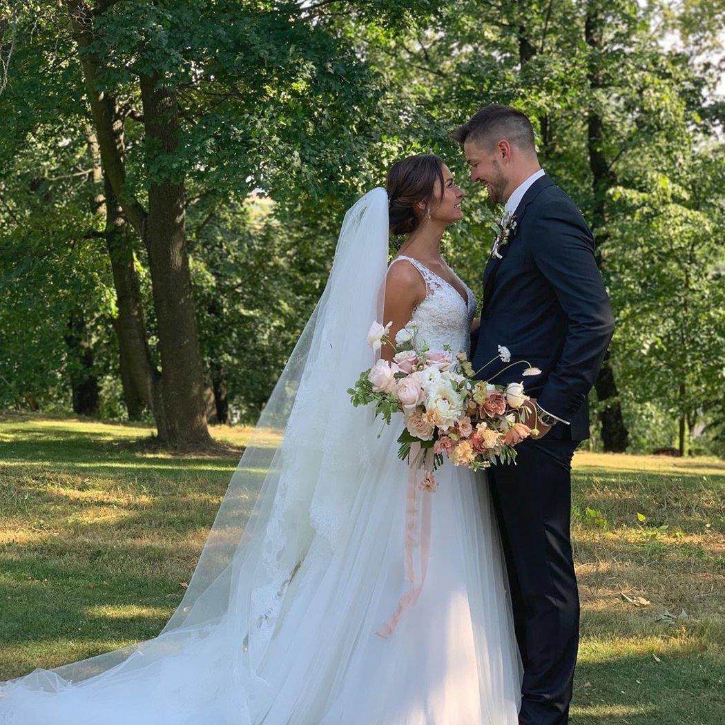 Svatební den Tomášovi a Anetě vyšel dokonale