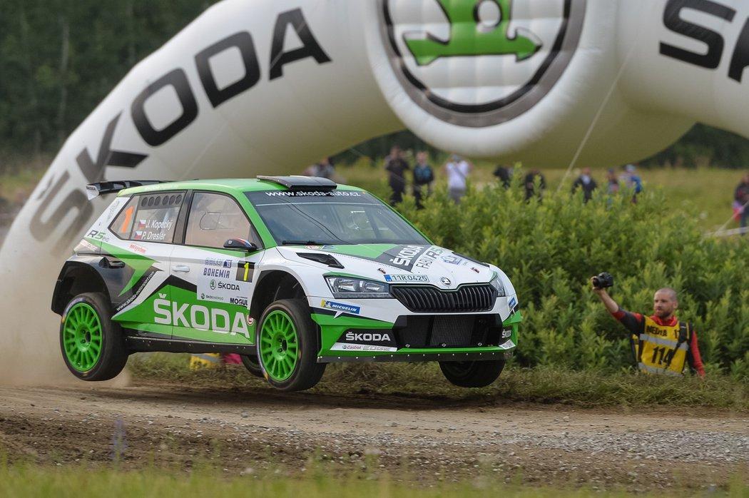 Jan Kopecký během Rallye Bohemia