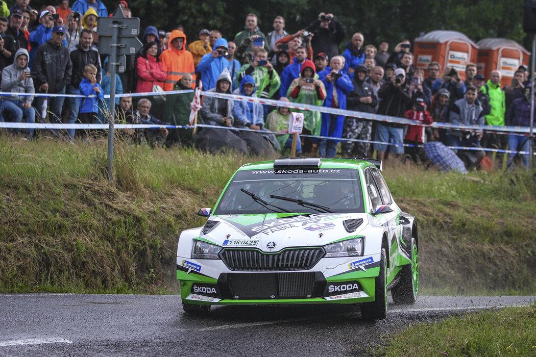 Záběry z druhého dne na Rallye Bohemia