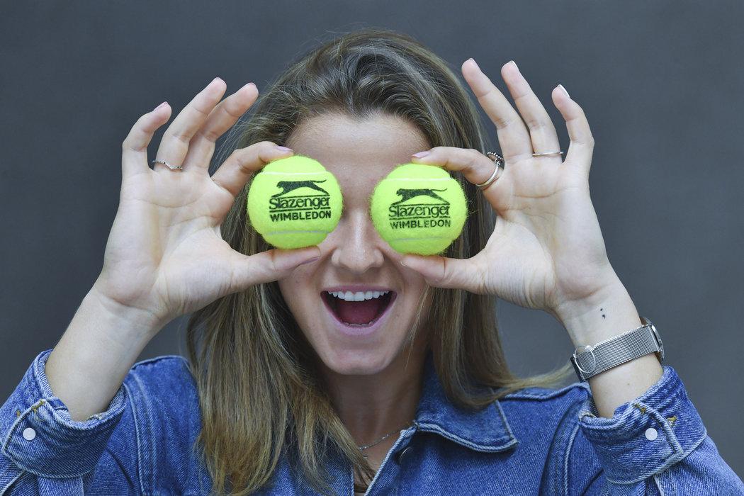 Tenisovým vzorem Karolíny Muchové je Roger Federer, mezi ženami k nikomu speciálně nevzhlíží