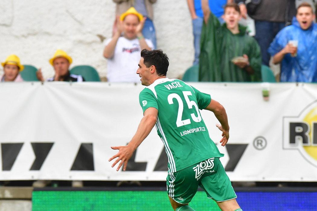 Kamil Vacek poslal Bohemians do rychlého vedení