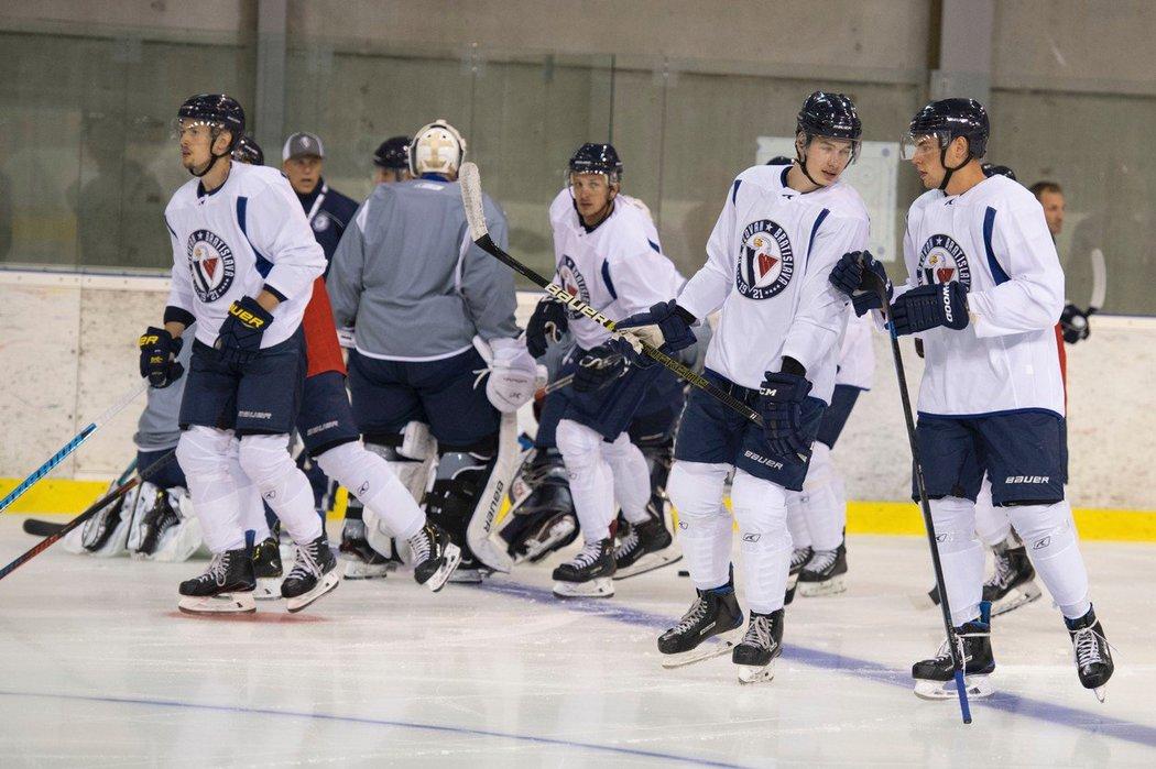 Hokejový Slovan začal přípravu na novou sezonu.