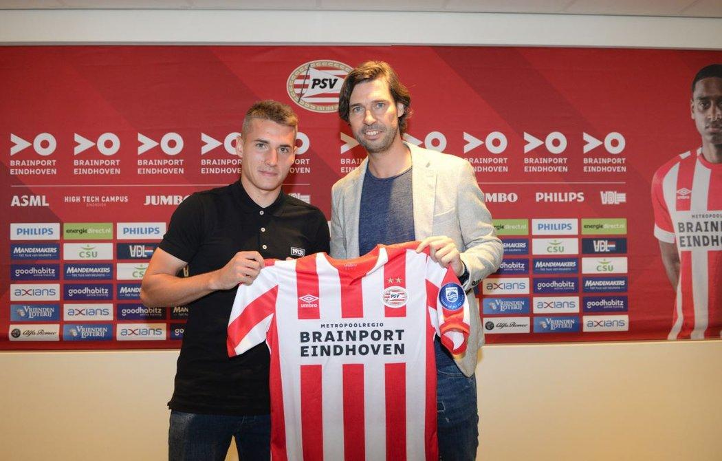 Český fotbalista Michal Sadílek podepsal s PSV Eindhoven novou tříletou smlouvu s následnou opcí