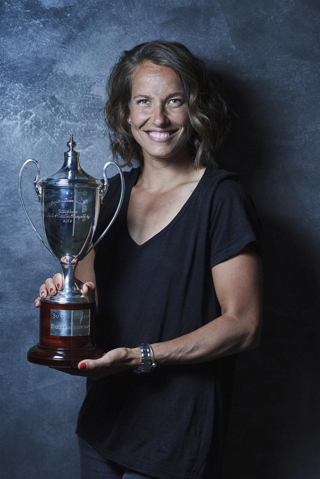 Barbora Strýcová má za sebou řadu úspěchů. Na letošní Wimbledon ale nezapomene do konce života
