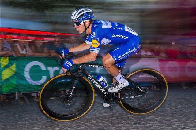 Belgičan Remco Evenepoel v San Sebastiánu dojel na prvním místě