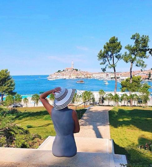 Jelena Dokičová se chlubí krásnými snímky z Chorvatska