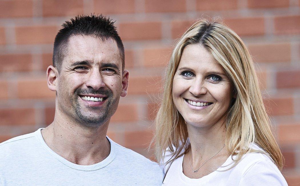Zamilovaný a šťastný pár: Tomáš Plekanec a Lucie Šafářová