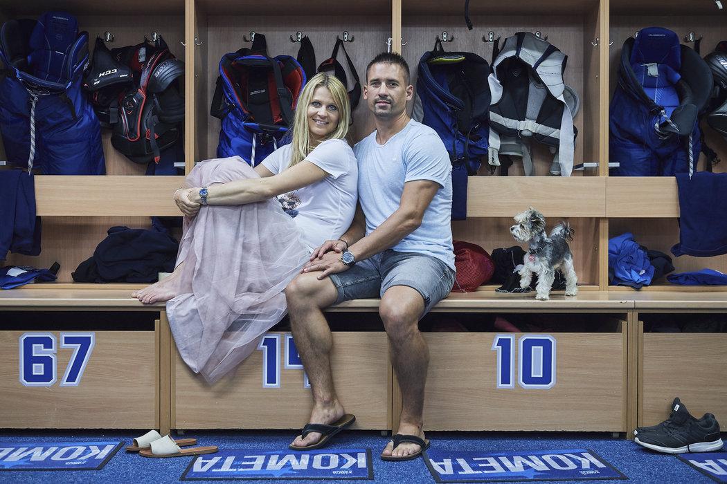 Velká fanynka Komety Lucie Šafářová bude mít Tomáše Plekance doma v Brně