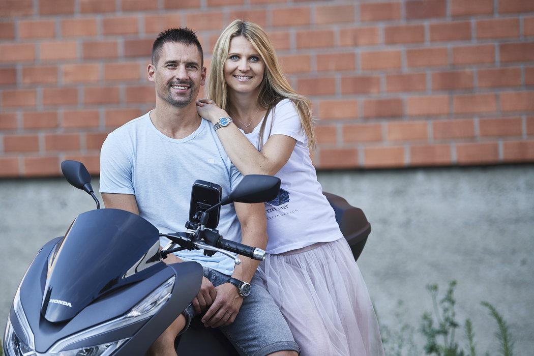 Lucie Šafářová s Tomášem Plekancem pózovali pro Sport Magazín