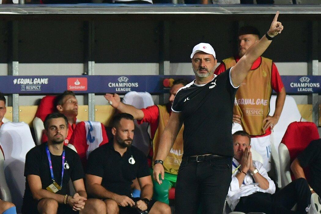 Kouč Slavie Jindřich Trpišovský dovedl svůj tým k postupu do Ligy mistrů