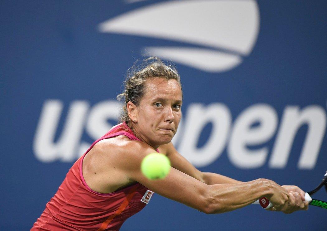 Velmi krátké bylo působení Barbory Strýcové na letošním US Open