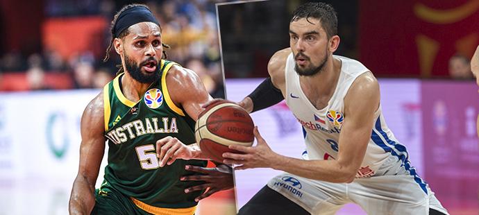Čeští basketbalisté hrají čtvrtfinále MS proti Austrálii