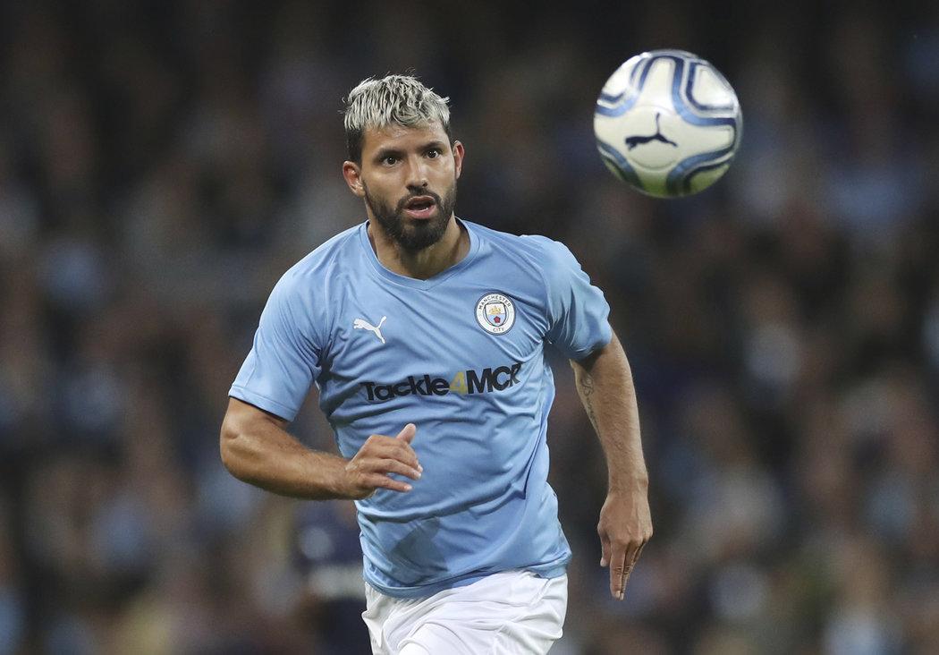 Sergio Agüero byl na zápase hvězd jednou z mála výjimek, která stále hraje profesionální fotbal